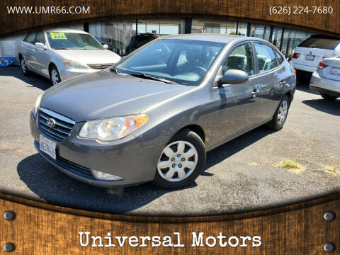 2008 Hyundai Elantra for sale at Universal Motors in Glendora CA