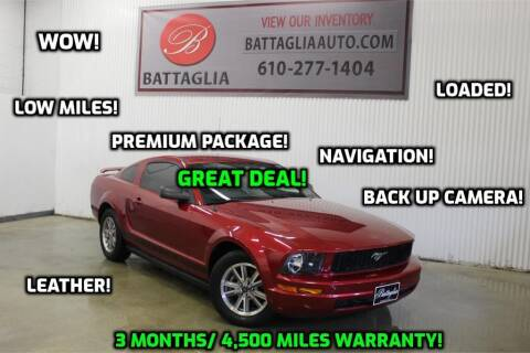 2005 Ford Mustang for sale at Battaglia Auto Sales in Plymouth Meeting PA