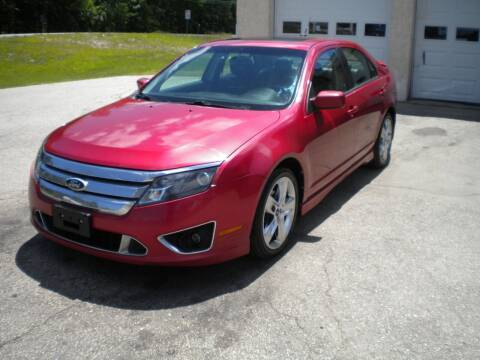 2010 Ford Fusion for sale at Route 111 Auto Sales in Hampstead NH