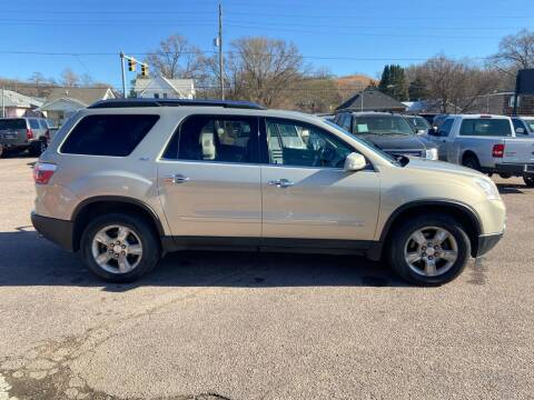 2008 GMC Acadia for sale at RIVERSIDE AUTO SALES in Sioux City IA