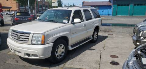2004 Cadillac Escalade for sale at Payless Car & Truck Sales in Mount Vernon WA