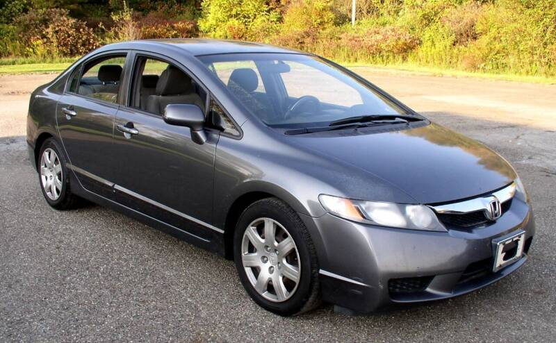 2010 Honda Civic for sale at Angelo's Auto Sales in Lowellville OH