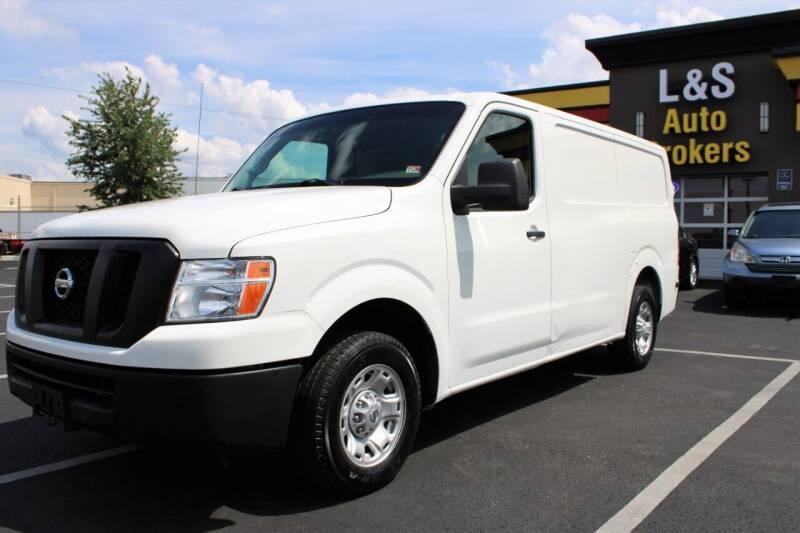 2017 Nissan NV Cargo for sale at L & S AUTO BROKERS in Fredericksburg VA