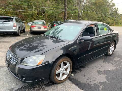2005 Nissan Altima for sale at MBM Auto Sales and Service - Lot A in East Sandwich MA