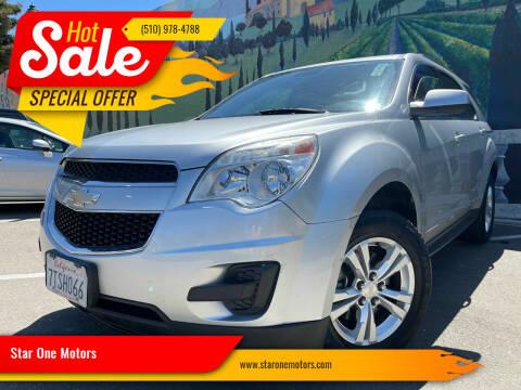 2015 Chevrolet Equinox for sale at Star One Motors in Hayward CA
