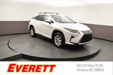 2016 Lexus RX 350 for sale at Everett Chevrolet Buick GMC in Hickory NC