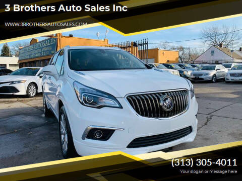 2017 Buick Envision for sale at 3 Brothers Auto Sales Inc in Detroit MI