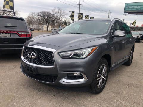 2019 Infiniti QX60 for sale at Champs Auto Sales in Detroit MI