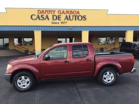 2006 Nissan Frontier for sale at CASA DE AUTOS, INC in Las Cruces NM