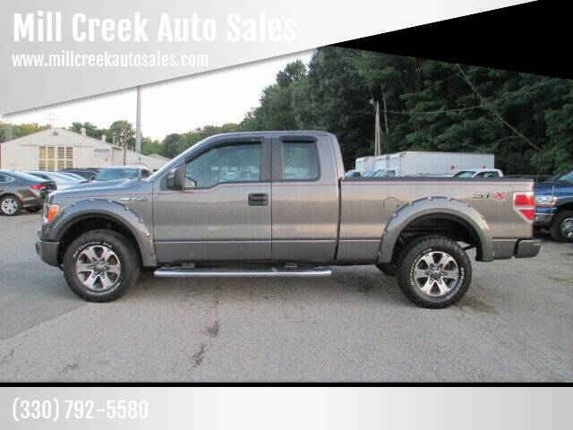 2014 Ford F-150 for sale at Mill Creek Auto Sales in Youngstown OH