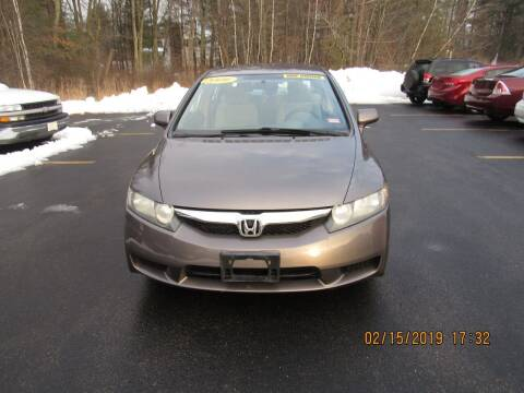 2009 Honda Civic for sale at Heritage Truck and Auto Inc. in Londonderry NH