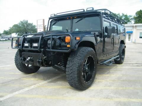 2003 HUMMER H1 for sale at Elite Modern Cars in Houston TX