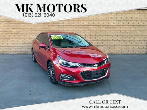 2017 Chevrolet Cruze for sale at MK Motors in Sacramento CA