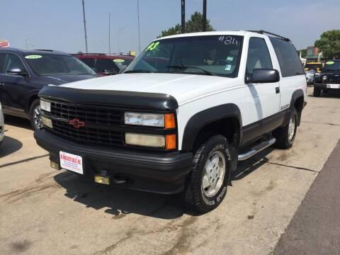 1993 Chevrolet Blazer for sale at De Anda Auto Sales in South Sioux City NE