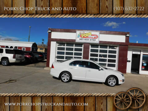 2010 Ford Fusion for sale at Porks Chop Truck and Auto in Cheyenne WY