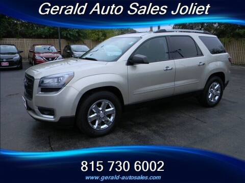 2014 GMC Acadia for sale at Gerald Auto Sales in Joliet IL