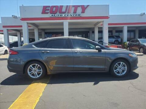 2018 Ford Fusion for sale at EQUITY AUTO CENTER in Phoenix AZ