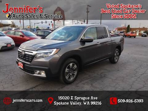 2019 Honda Ridgeline for sale at Jennifer's Auto Sales in Spokane Valley WA