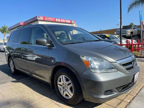 2007 Honda Odyssey for sale at CARCO SALES & FINANCE in Chula Vista CA
