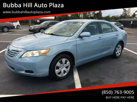 2008 Toyota Camry for sale at Bubba Hill Auto Plaza in Panama City FL