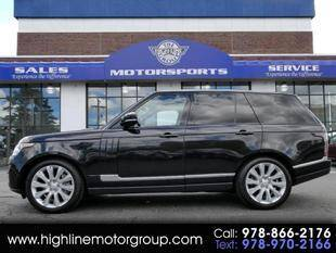 2017 Land Rover Range Rover for sale at Highline Group Motorsports in Lowell MA