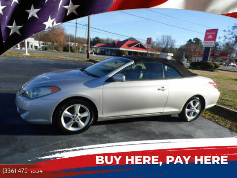 2006 Toyota Camry Solara for sale at CAROLINA MOTORS in Thomasville NC