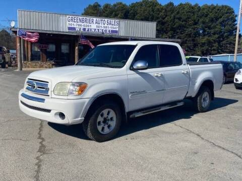 2005 Toyota Tundra for sale at Greenbrier Auto Sales in Greenbrier AR