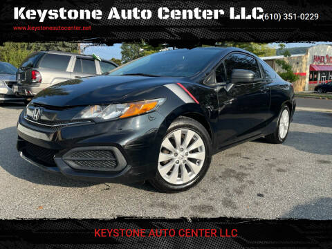 2014 Honda Civic for sale at Keystone Auto Center LLC in Allentown PA