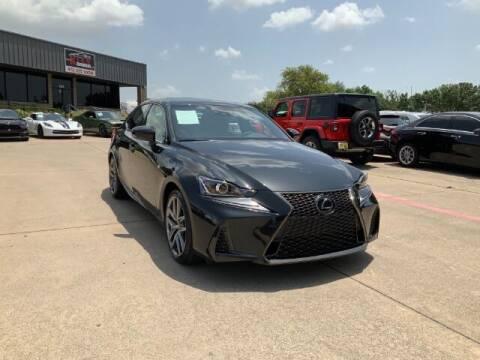 2020 Lexus IS 300 for sale at KIAN MOTORS INC in Plano TX