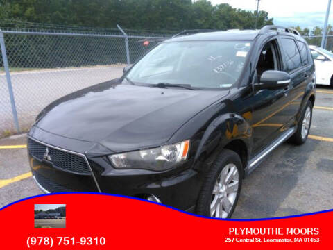 2011 Mitsubishi Outlander for sale at Plymouthe Motors in Leominster MA
