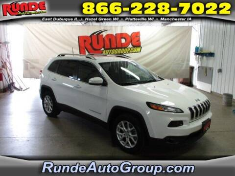 2016 Jeep Cherokee for sale at Runde PreDriven in Hazel Green WI