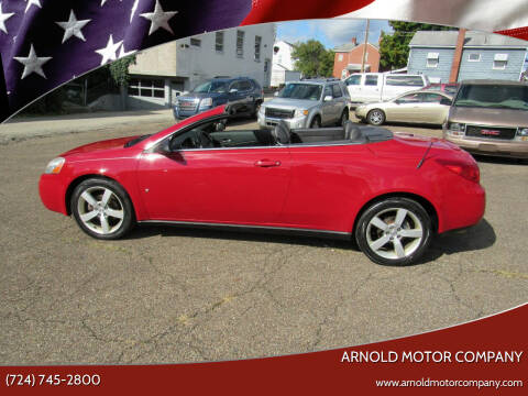 2007 Pontiac G6 for sale at Arnold Motor Company in Houston PA