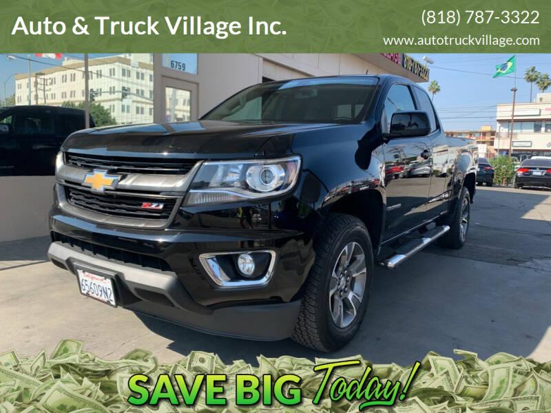 2018 Chevrolet Colorado for sale at Auto & Truck Village Inc. in Van Nuys CA