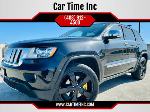 2012 Jeep Grand Cherokee for sale at Car Time Inc in San Jose CA