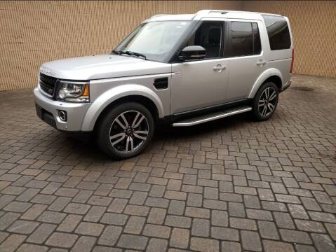 2016 Land Rover LR4 for sale at Riverside Auto Sales & Service in Portland ME