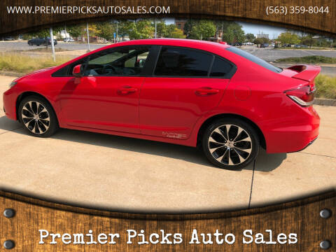 2013 Honda Civic for sale at Premier Picks Auto Sales in Bettendorf IA