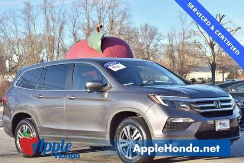 2017 Honda Pilot for sale at APPLE HONDA in Riverhead NY