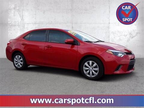 2015 Toyota Corolla for sale at Car Spot Of Central Florida in Melbourne FL