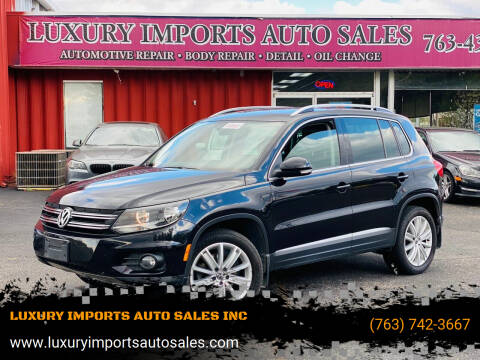 2013 Volkswagen Tiguan for sale at LUXURY IMPORTS AUTO SALES INC in North Branch MN