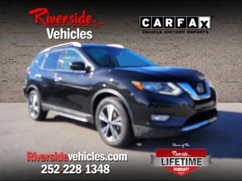 2018 Nissan Rogue for sale at Riverside Mitsubishi(New Bern Auto Mart) in New Bern NC