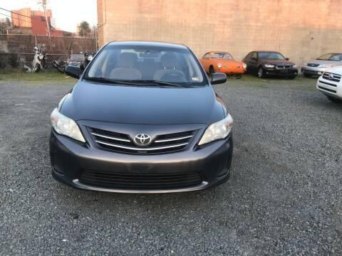 2013 Toyota Corolla for sale at A & B Auto Finance Company in Alexandria VA