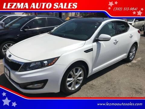 2012 Kia Optima for sale at Auto Emporium in Wilmington CA