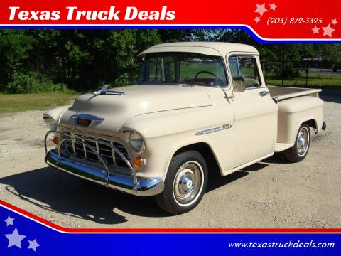 1955 Chevrolet 3100 for sale at Texas Truck Deals in Corsicana TX