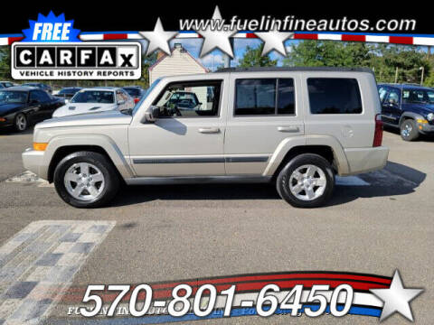 2007 Jeep Commander for sale at FUELIN FINE AUTO SALES INC in Saylorsburg PA