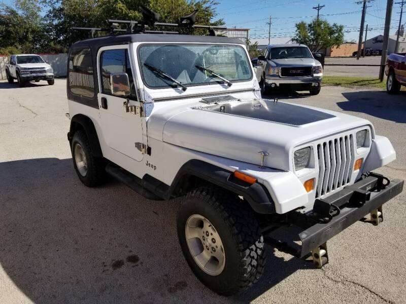 1995 Jeep Wrangler for sale at Key City Motors in Abilene TX