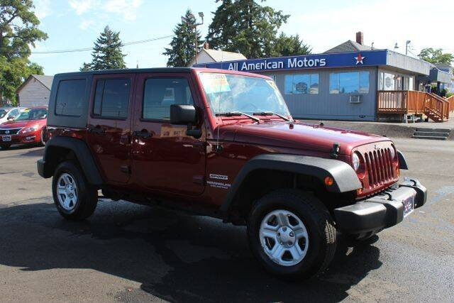 2010 Jeep Wrangler Unlimited for sale at All American Motors in Tacoma WA