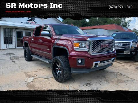 2015 GMC Sierra 1500 for sale at SR Motors Inc in Gainesville GA