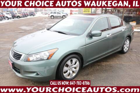 2009 Honda Accord for sale at Your Choice Autos - Waukegan in Waukegan IL