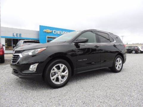 2020 Chevrolet Equinox for sale at LEE CHEVROLET PONTIAC BUICK in Washington NC