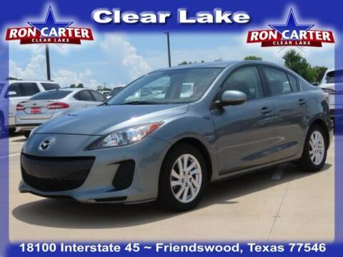 2012 Mazda MAZDA3 for sale at Ron Carter  Clear Lake Used Cars in Houston TX